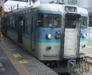 中央線の電車